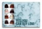 Simply Chocolate - Yes, you can buy love - 24 biter konfekt thumbnail