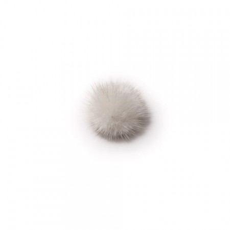 DARK, Mink White - Shoe Clip - Pom Pom