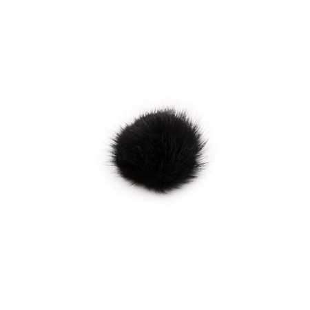 DARK, Mink Black - Shoe Clip - Pom Pom