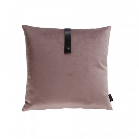 Louise Smærup - Dusty rose velvet pute 50x50