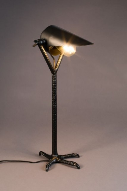 Dutchbone - Bordlampe Falcon - Black