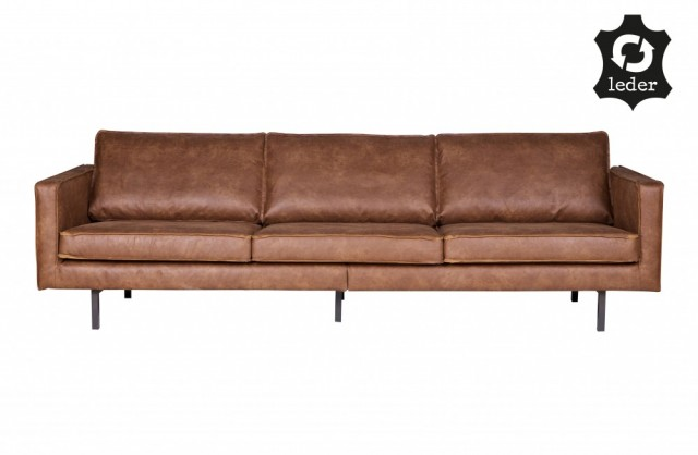Be Pure Home - Rodeo 3 seter sofa - Cognac